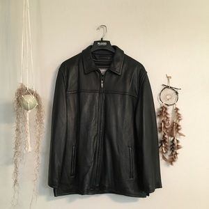 Wilson's Leather M Julian Black Leather Jacket XL